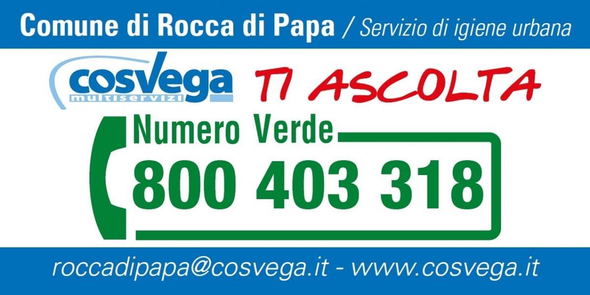 Numero Verde Co.sve.ga